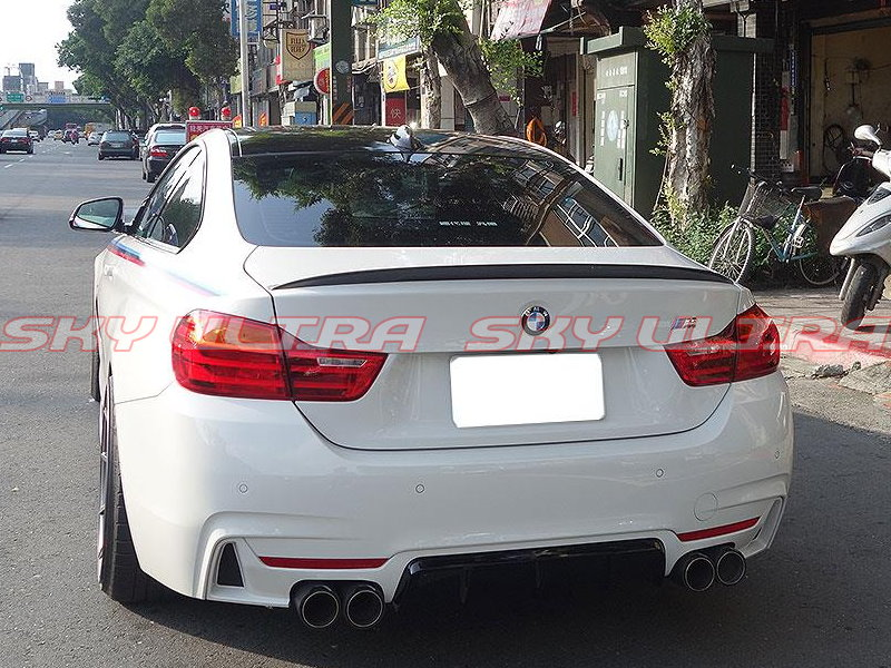 Painted 2014 Bmw 4 Series F32 Performance Type Rear Trunk
