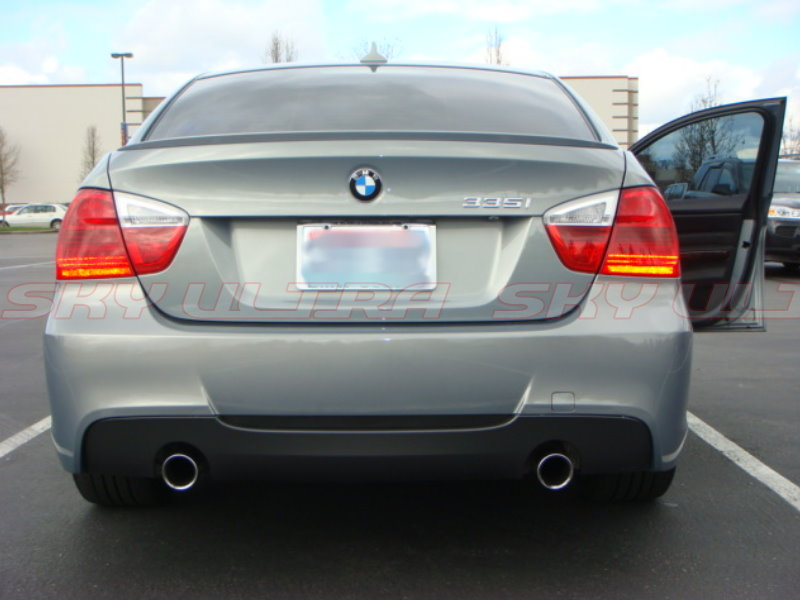 Painted Bmw E90 3 Series M3 Type Rear Trunk Spoiler Wing